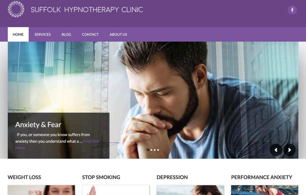 Suffolk Hypnotherapy new website